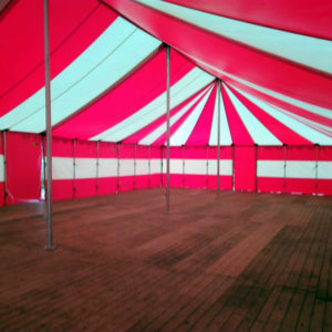 Tent rood/wit - € ,-